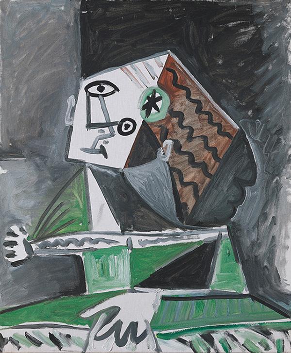 Картина Пабло Пикассо. Менины (Изабелла де Веласко). Интерпретация № 26. 9 октября 1957