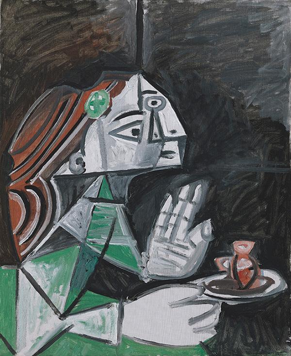 Картина Пабло Пикассо. Менины (Мария Агустина Сармьенто). Интерпретация № 27. 9 октября 1957
