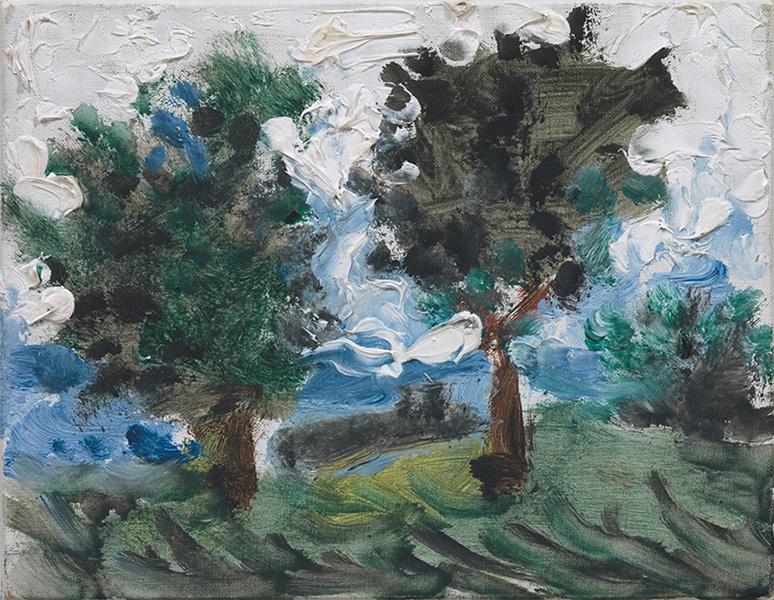 Картина Пабло Пикассо. Пейзаж (2). 2 декабря 1957