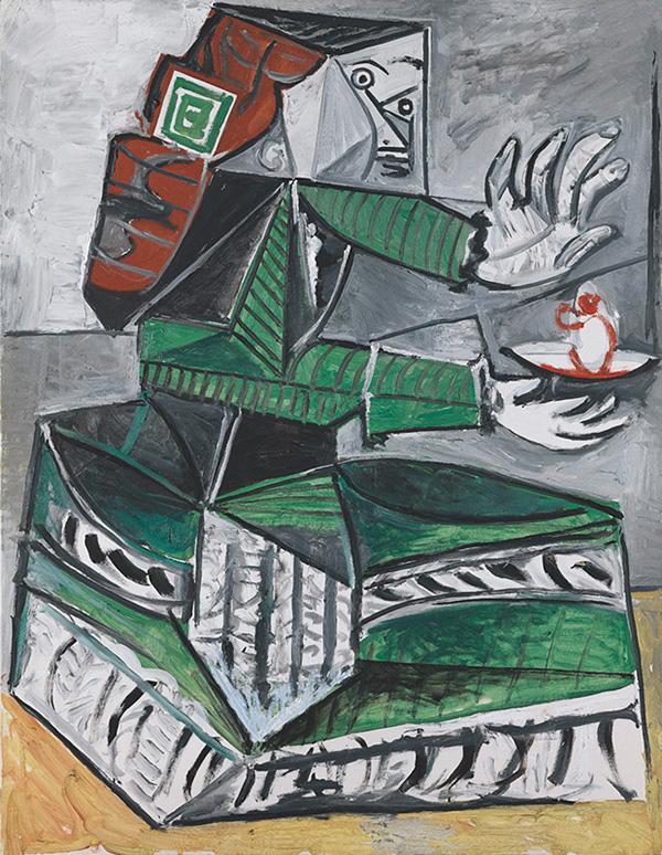 Картина Пабло Пикассо. Менины (Мария Агустина Сармьенто). Интерпретация № 30. 10 октября 1957