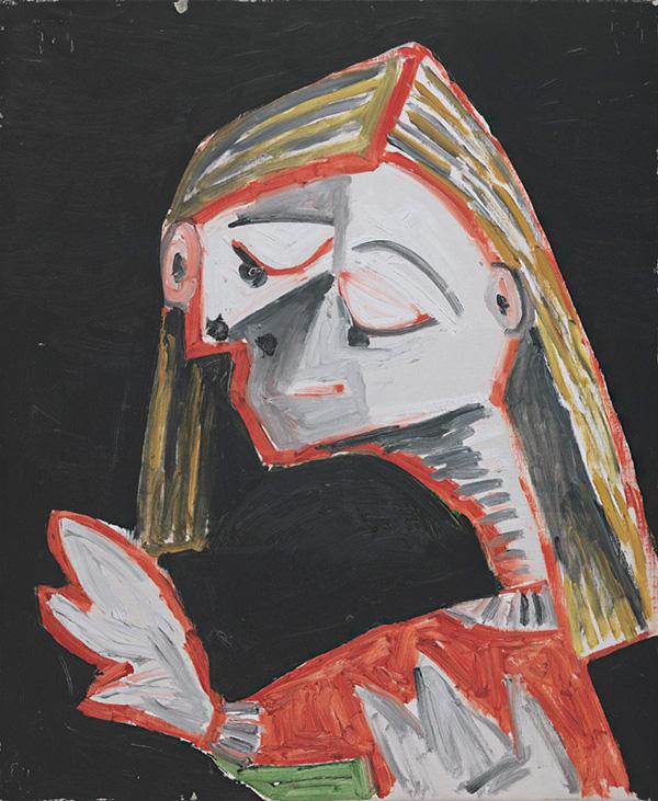 Картина Пабло Пикассо. Менины (Николас Пертусато). Интерпретация № 32. 24 октября 1957