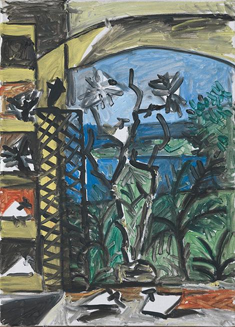 Картина Пабло Пикассо. Голуби (3). 7 сентября 1957