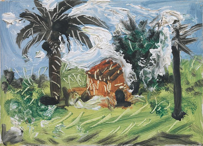 Картина Пабло Пикассо. Пейзаж (3). 2 декабря 1957