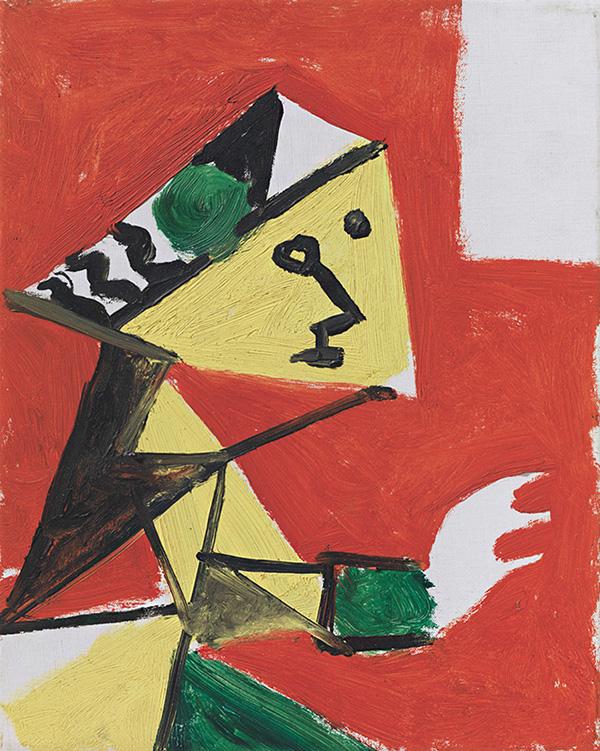 Картина Пабло Пикассо. Менины (Мария Агустина Сармьенто). Интерпретация № 40. 17 ноября 1957