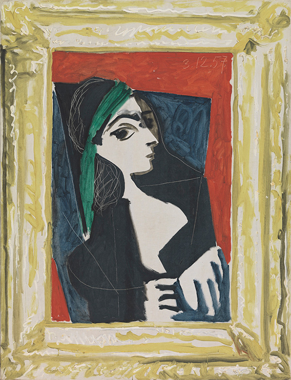 Картина Пабло Пикассо. Менины (Жаклин). Интерпретация № 46. 3 декабря 1957