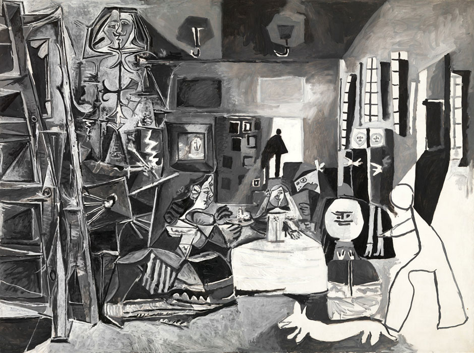 Картина Пабло Пикассо. Менины. Интерпретация № 1. 17 августа 1957