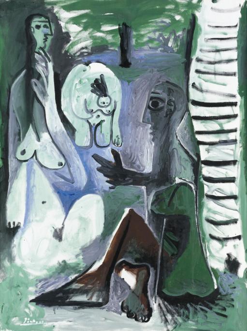 Картина Пабло Пикассо. Завтрак на траве, по Мане. 31 июля (1) 1961 ($5,1 млн)